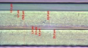 Mikrotomschnitt-Coex-Folie
